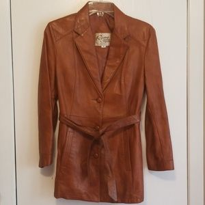 Remy Leather Fashions coat